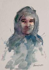 Fisionomia 1 - aquarela, por Amaury Menezes