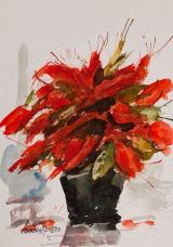In Veja 1 - aquarela, por Amaury Menezes