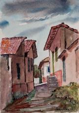Me parece 1 - aquarela, por Amaury Menezes